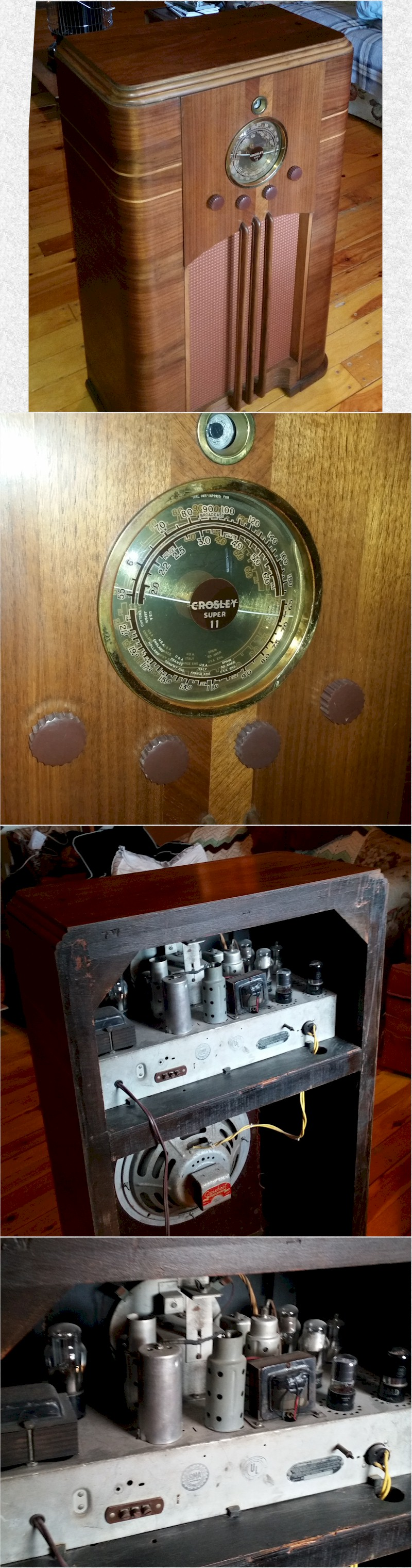 Crosley 1117 Super 11