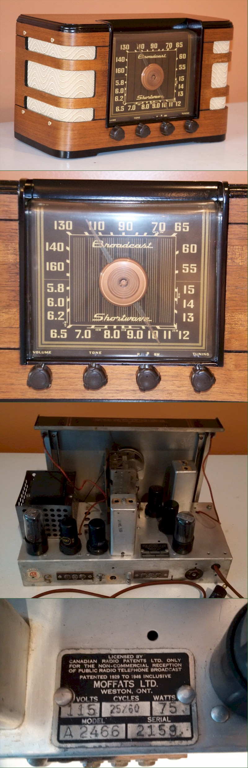 Crosley A2466 (Made in Canada)