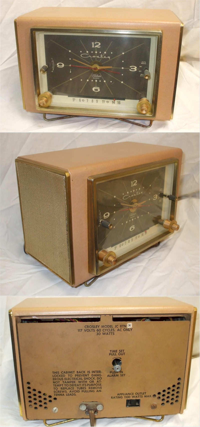 Crosley JC-8TN