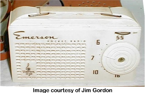Emerson Pocket Radio