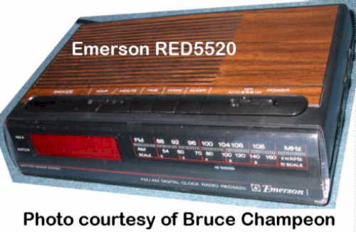 Emerson RED5520