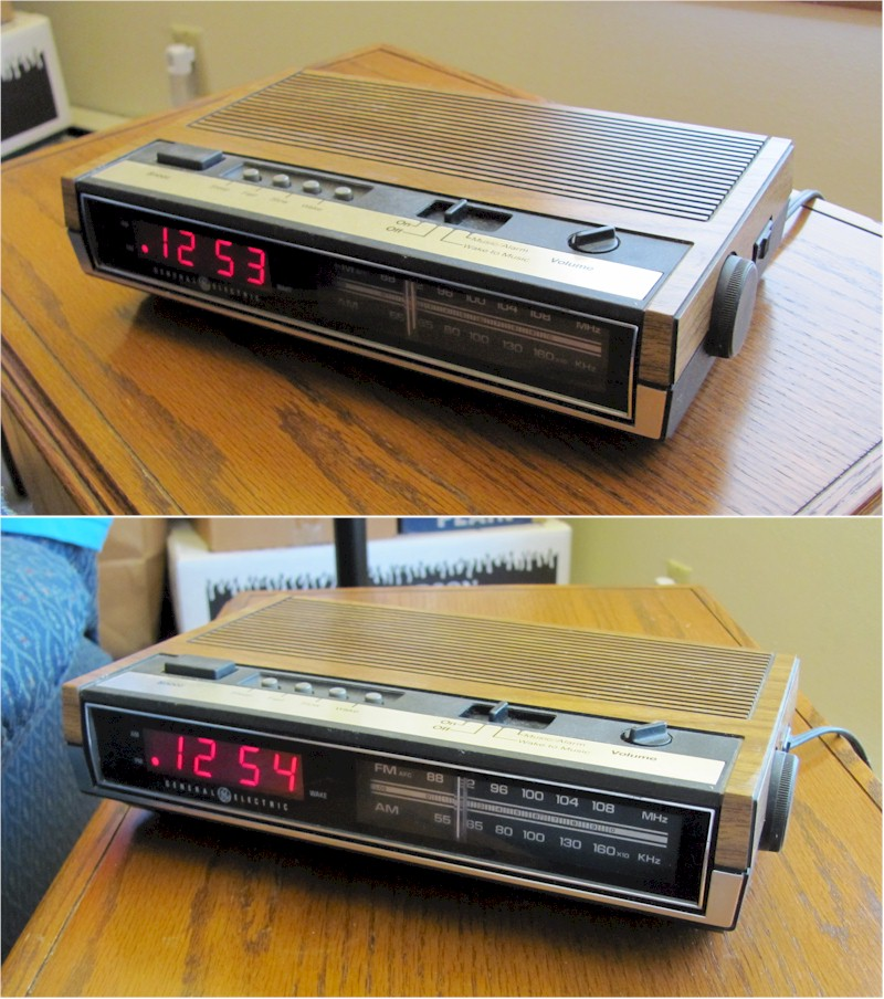 General Electric 7-4630A Clock Radio