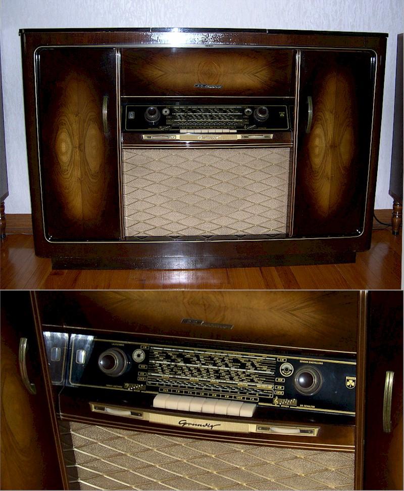 Radio Attic\'s Archives - Grundig Musikschrank 7065 w/3D Manufactured ...