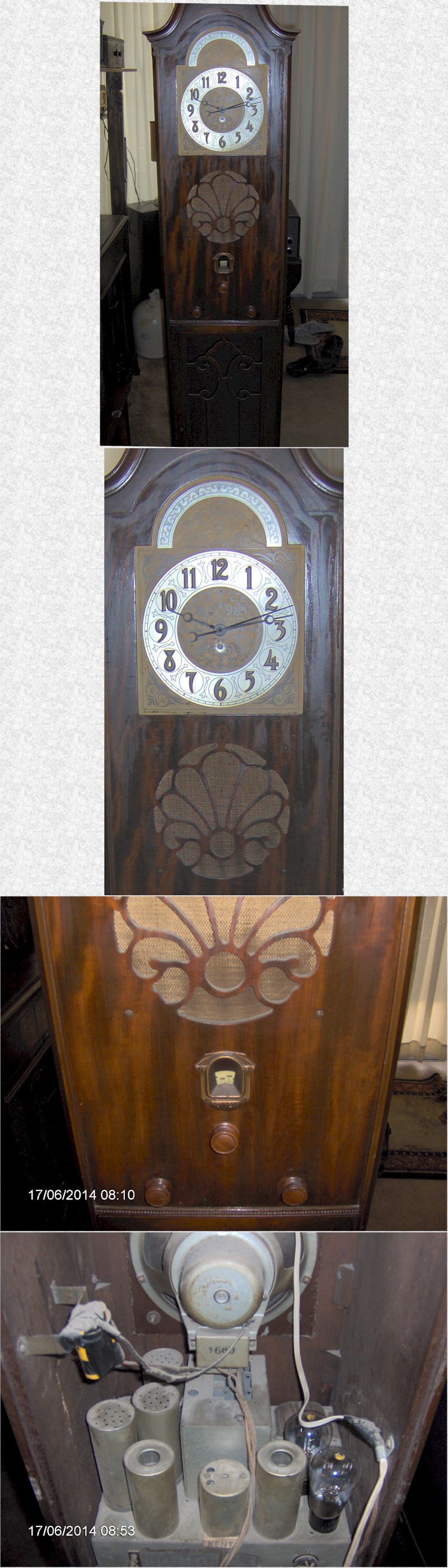 Colin B. Kennedy 52A Grandfather Clock