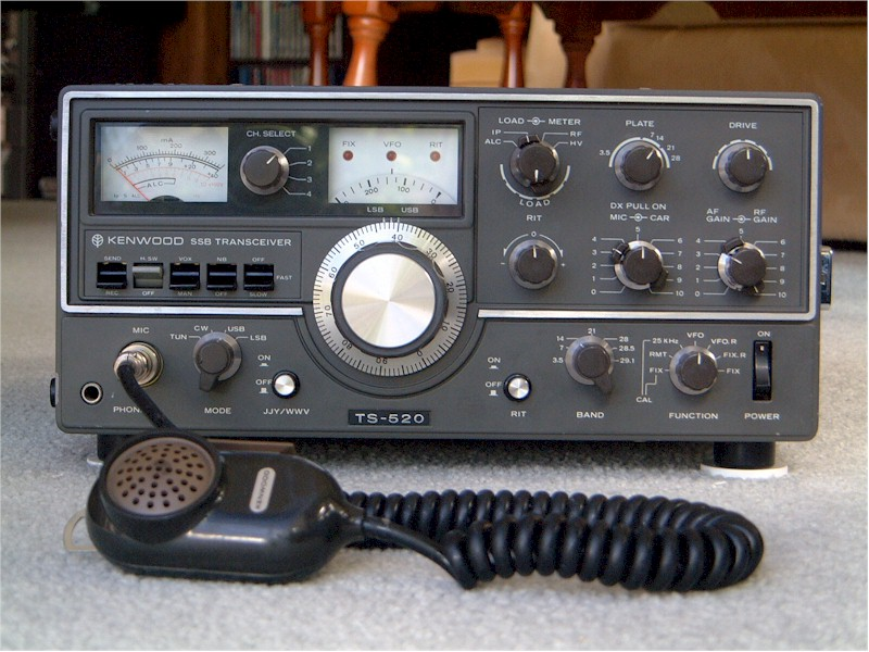 Radio Attic's Archives - Kenwood TS-520 HF Transceiver