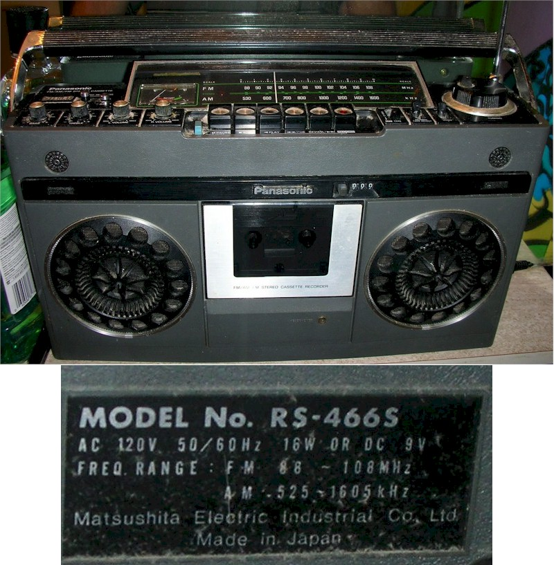 Panasonic RS-466S
