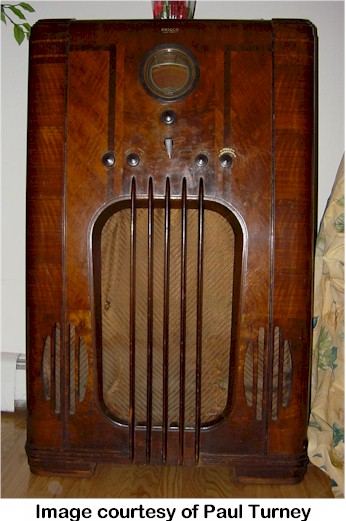 Philco 37-116X (manual tuning)
