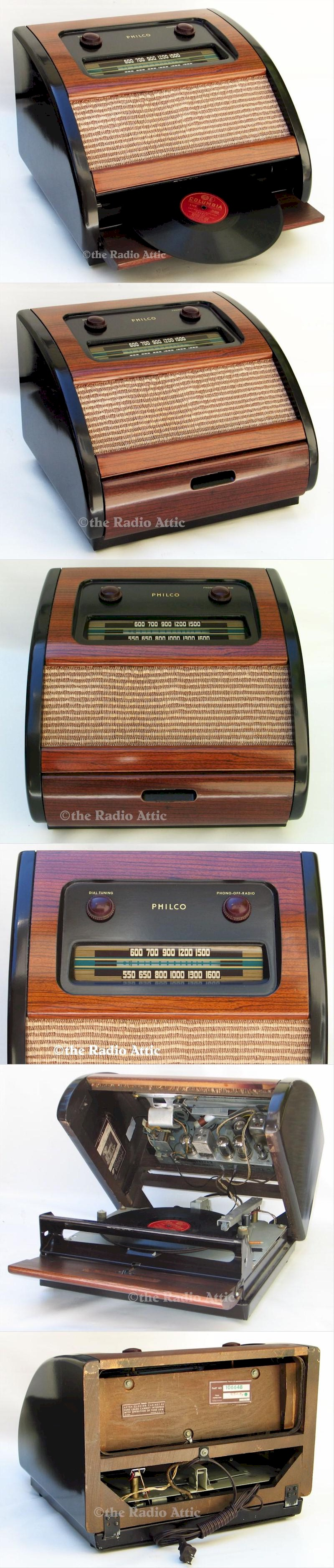 "Philco 46-1201 ""Bing Crosby"""