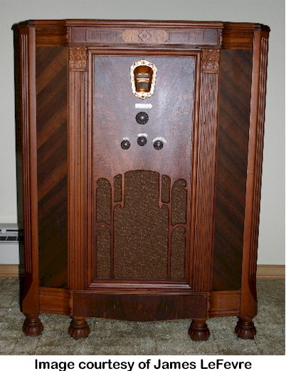Philco 71 (legs cut off)