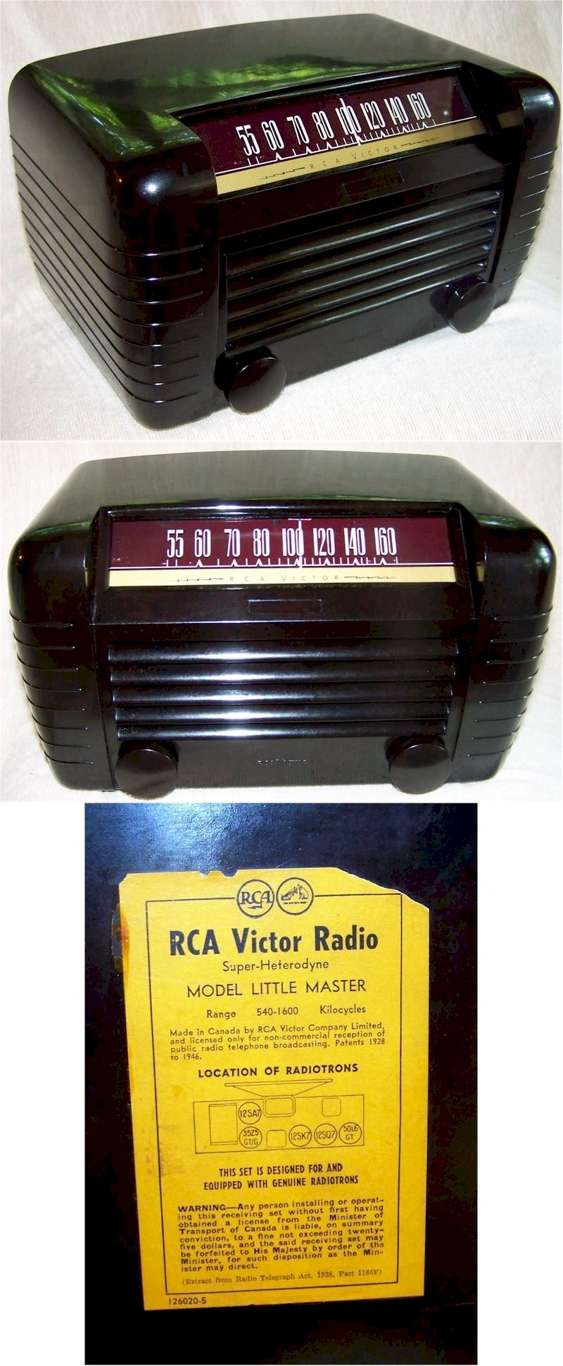 RCA Little Master