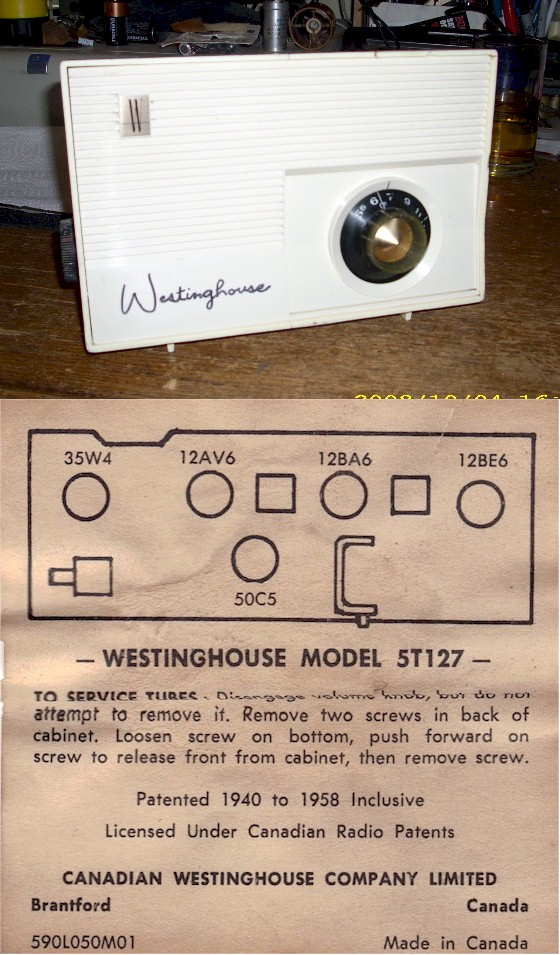 Westinghouse 5T127